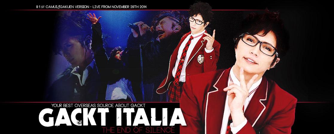 GACKT ITALIA