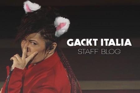GACKT ITALIA Staff Blog – December...