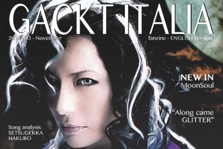 GACKT ITALIA FANZINE – November 2014