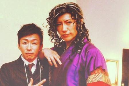 Takeshi Nakano with GACKT – October...
