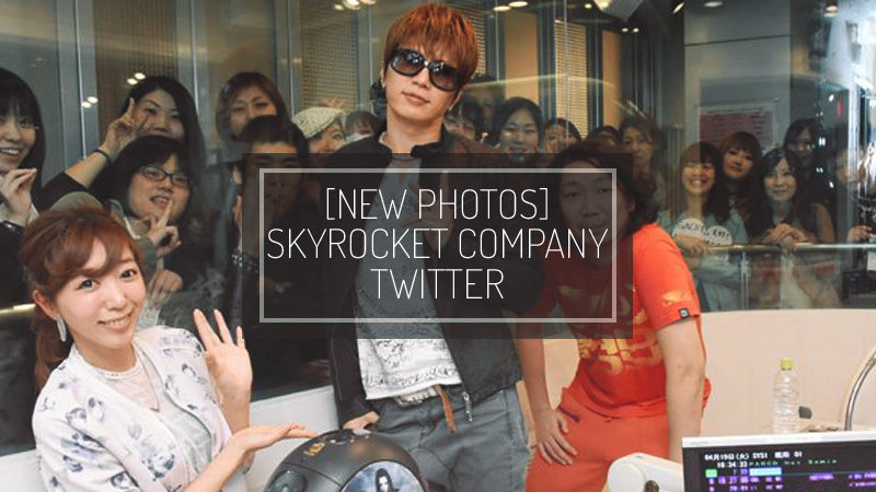 [NUOVE FOTO] Skyrocket Company Twitter