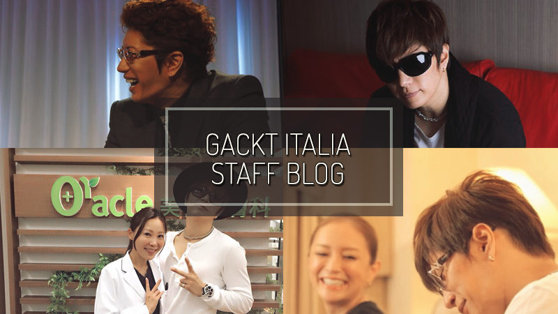 GACKT ITALIA STAFF BLOG – Aug 07
