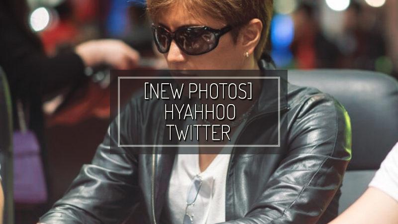 [NUOVE FOTO] Hyahhoo twitter – Nov 08