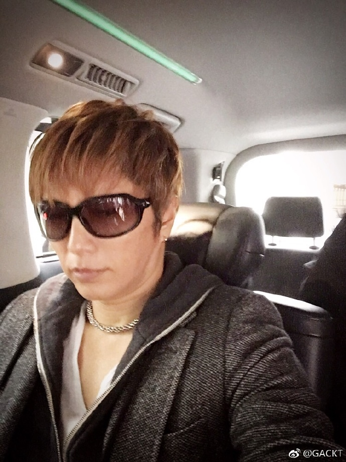 (Italiano) GACKT OFFICIAL WEIBO TRANSLATION – MAR 19 2017
