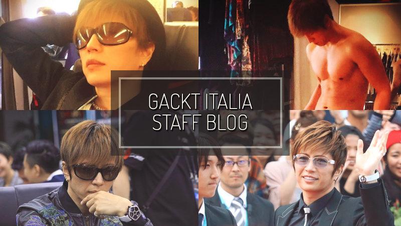 GACKT ITALIA STAFF BLOG – APR 23 2017