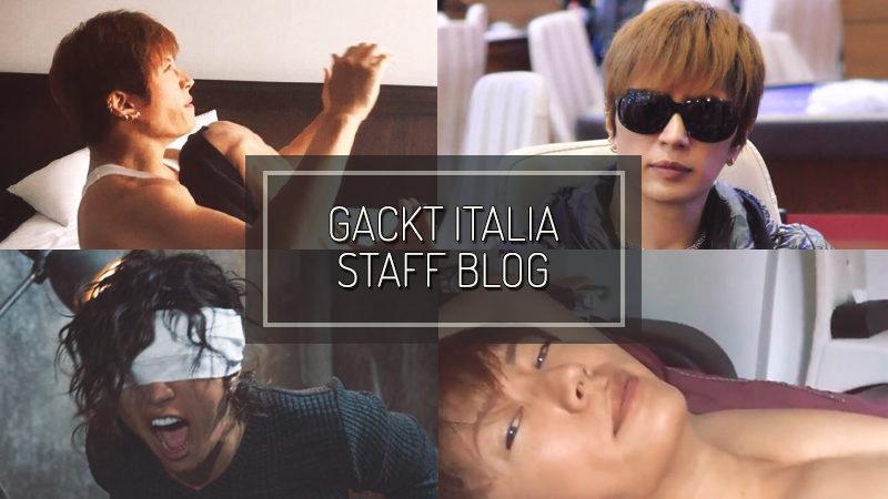 GACKT ITALIA STAFF BLOG – APR 02 2017