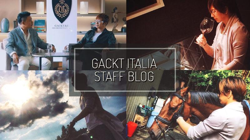 GACKT ITALIA STAFF BLOG – JUN 18 2017