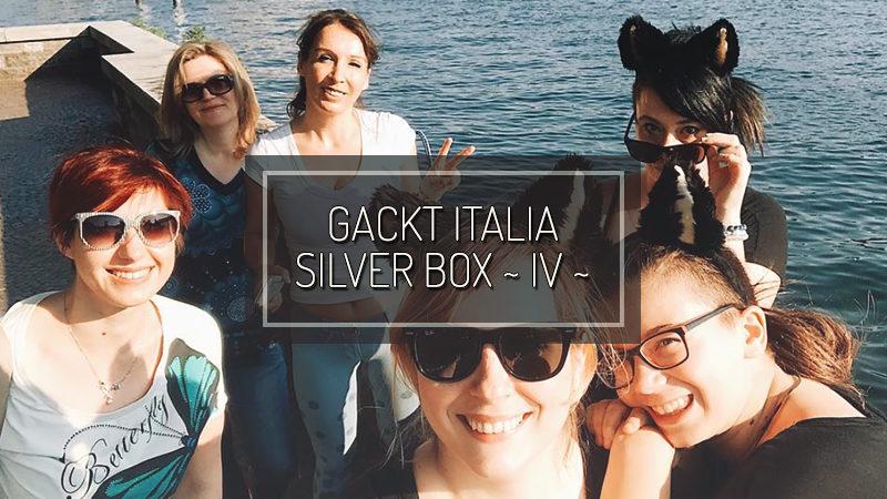 GACKT ITALIA SILVER BOX ~ IV ~ : Happy Birthday GACKT