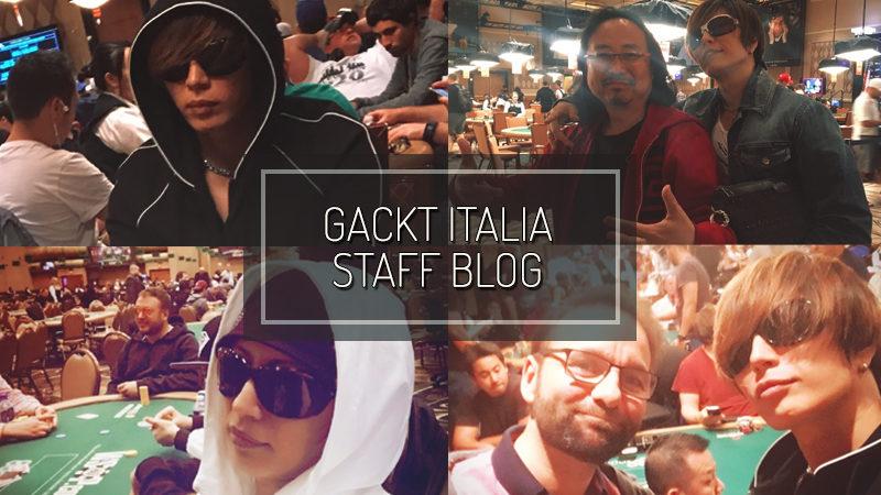 GACKT ITALIA STAFF BLOG – JUL 16 2017