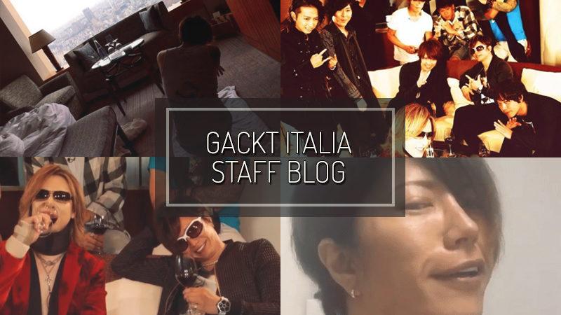 GACKT ITALIA STAFF BLOG – SEP 10 2017