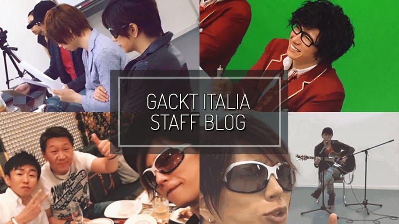 GACKT ITALIA STAFF BLOG – SEP 17 2017