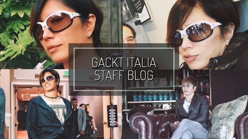 GACKT ITALIA STAFF BLOG – SEP 24 2017