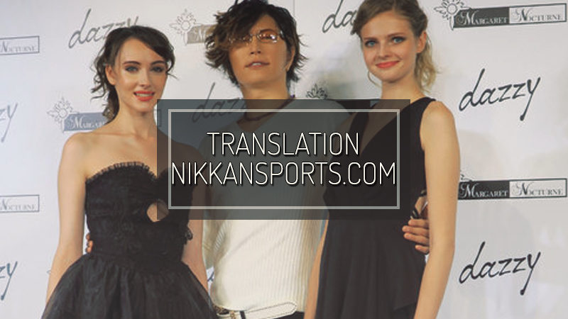 NIKKANSPORTS.COM: GACKT on Amuro's retirement 「A finale fitting of her」