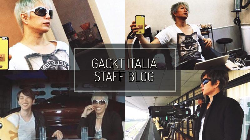 GACKT ITALIA STAFF BLOG – OCT 29 2017