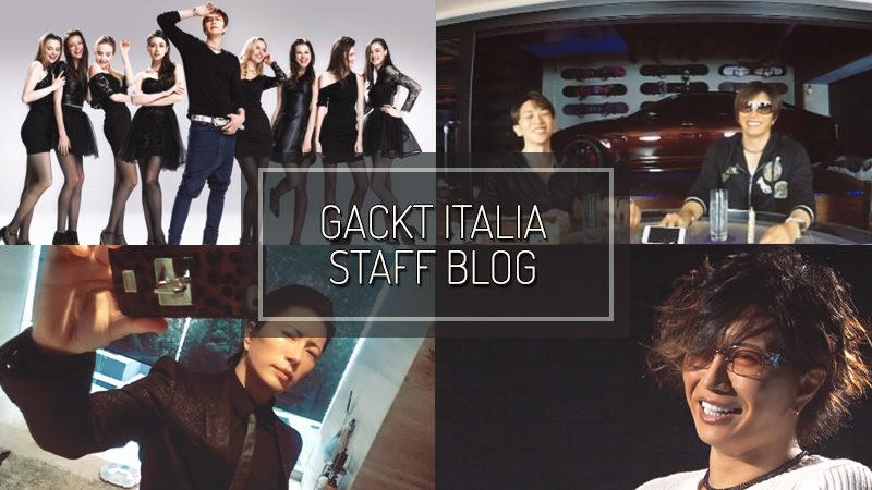 GACKT ITALIA STAFF BLOG – OCT 01 2017