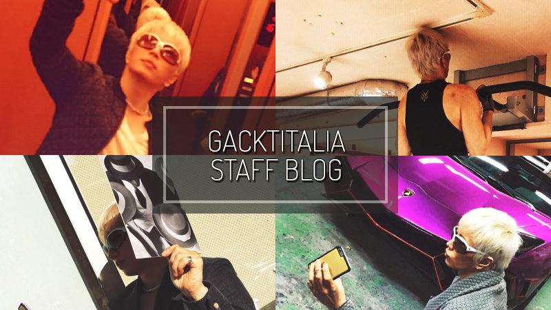 GACKT ITALIA STAFF BLOG – NOV 05 2017