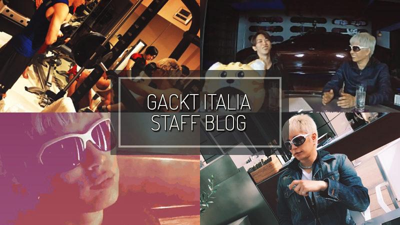 GACKT ITALIA STAFF BLOG – NOV 19 2017