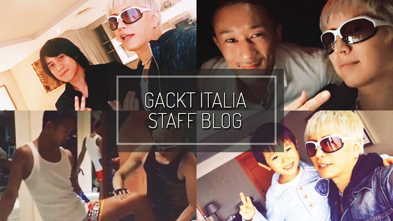 GACKT ITALIA STAFF BLOG – DEC 03 2017