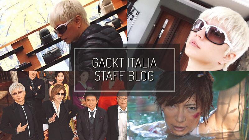 GACKT ITALIA STAFF BLOG – DEC 17 2017