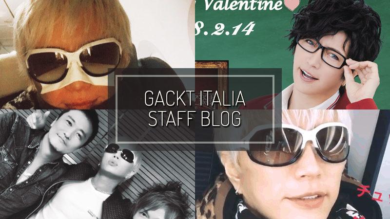 GACKT ITALIA STAFF BLOG – JAN 21 2017