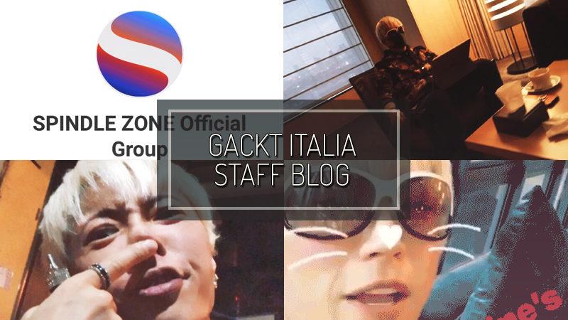 GACKT ITALIA STAFF BLOG – FEB 18 2017