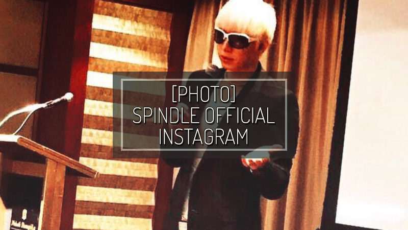[PHOTO] SPINDLE OFFICIAL INSTAGRAM – FEB 27 2018
