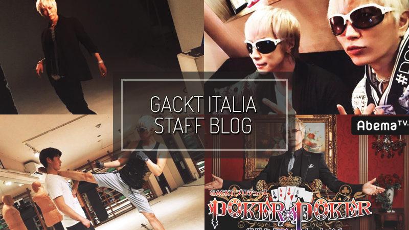 GACKT ITALIA STAFF BLOG – APR 08 2017