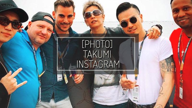 [PHOTO] TAKUMI INSTAGRAM – MAY 27 2018