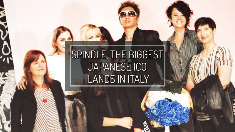 SPINDLE, the biggest Japanese ICO and match-making platform, lands in Italy