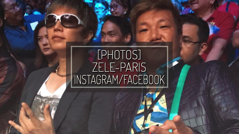 [PHOTO] ZELE-PARIS INSTAGRAM/FACEBOOK – JUL 15 2018