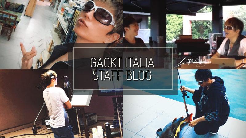 GACKT ITALIA STAFF BLOG – SET 02 2018