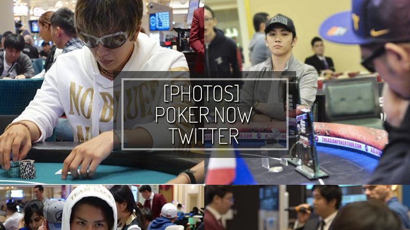 [FOTO] POKER NOW TWITTER – SET 21 2018