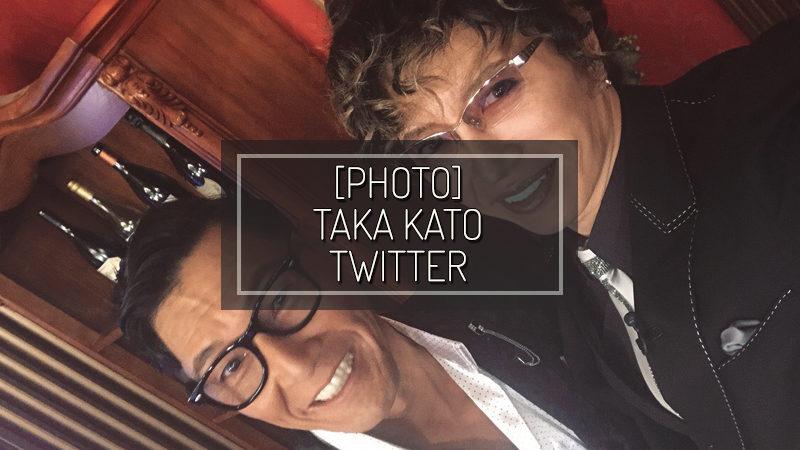 [PHOTO] TAKA KATO TWITTER – NOV 22 2018