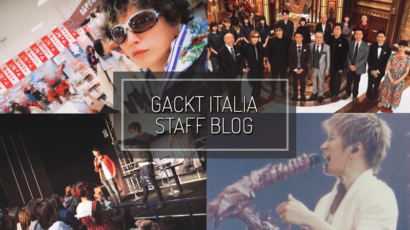 GACKT ITALIA STAFF BLOG – DIC 02 2018