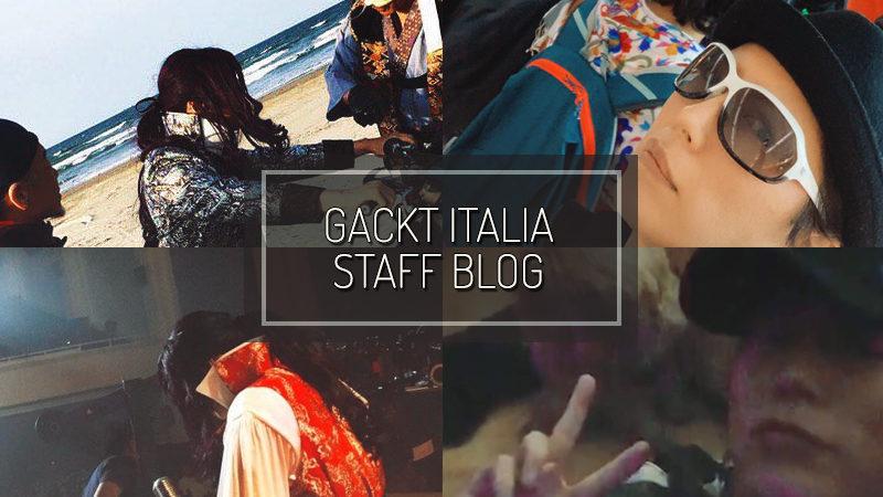 GACKT ITALIA STAFF BLOG – APR 07 2019