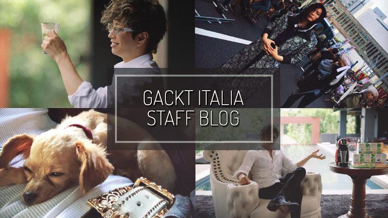 GACKT ITALIA STAFF BLOG – APR 14 2019
