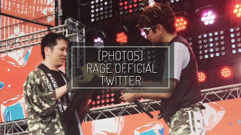 [PHOTOS] RAGE OFFICIAL TWITTER – AUG 03 2019