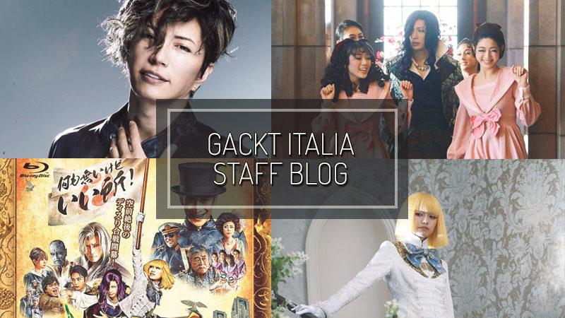 GACKT ITALIA STAFF BLOG – SEP 15 2019