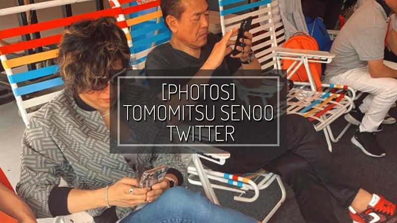 [PHOTOS] TOMOMITSU SENOO TWITTER – NOV 21 2019