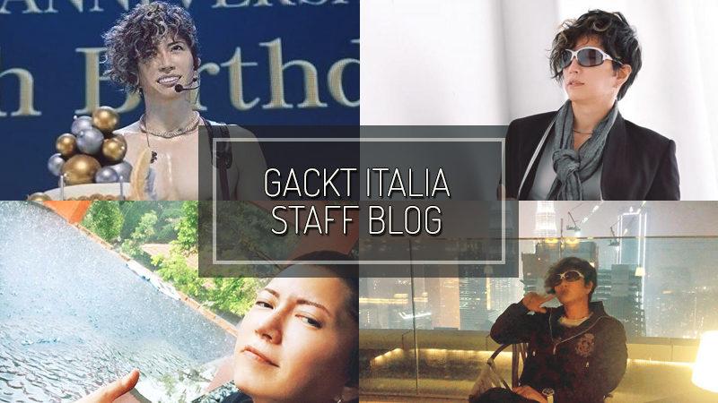 GACKT ITALIA STAFF BLOG – DIC 15 2019
