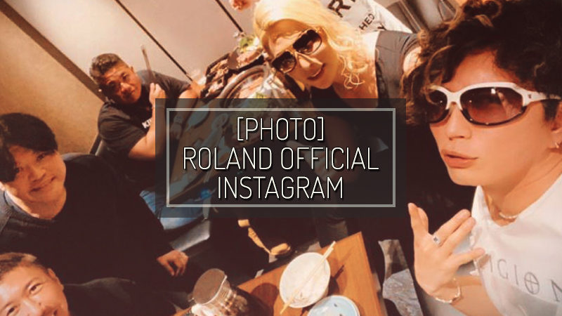 ROLAND OFFICIAL INSTAGRAM STORIES – DIC 30 2019