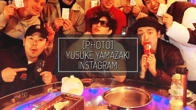 [PHOTOS] YUSUKE YAMAZAKI INSTAGRAM – JAN 01 2020
