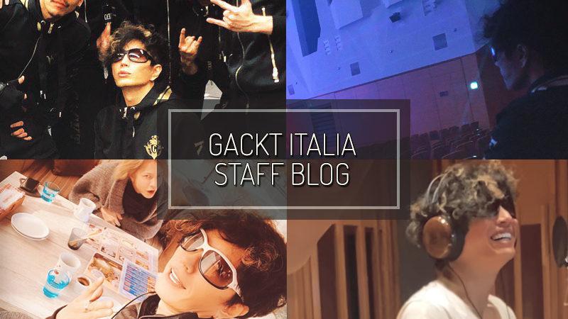 GACKT ITALIA STAFF BLOG – GEN 19 2020