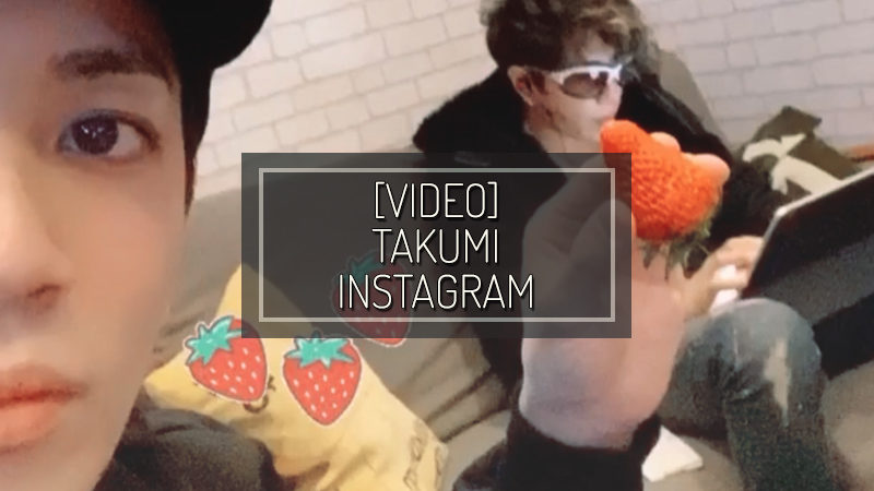 [VIDEO] TAKUMI INSTAGRAM – JAN 21 2020
