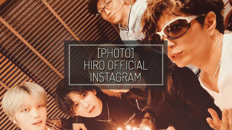 [PHOTO] HIRO OFFICIAL INSTAGRAM – FEB 10 2020