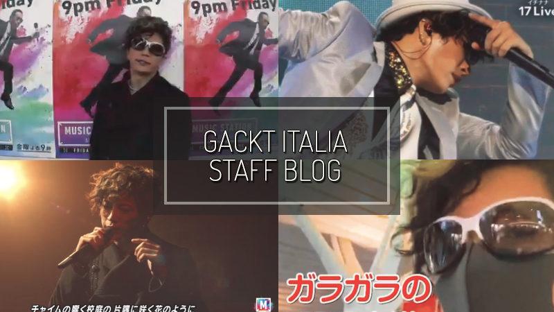 GACKT ITALIA STAFF BLOG – MAR 15 2020