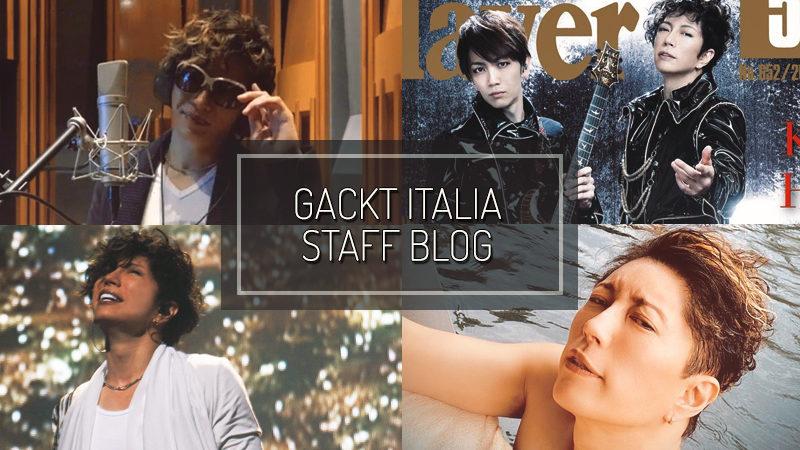 GACKT ITALIA STAFF BLOG – MAR 22 2020