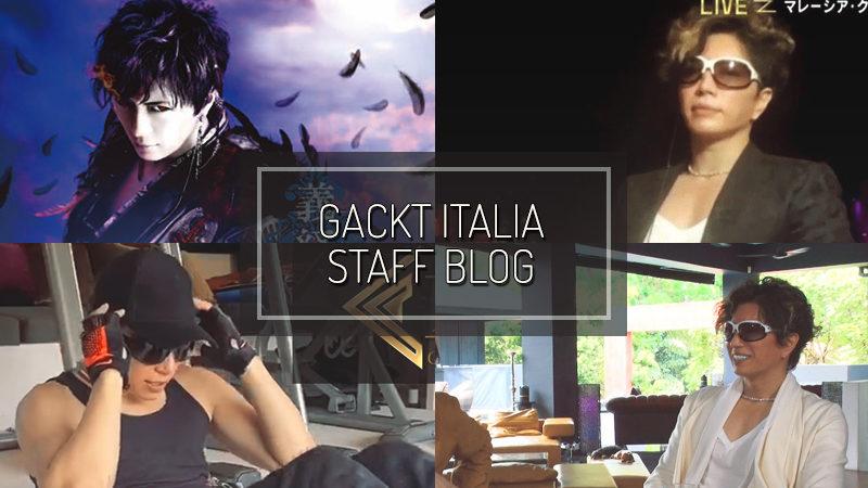 GACKT ITALIA STAFF BLOG – APR 12 2020