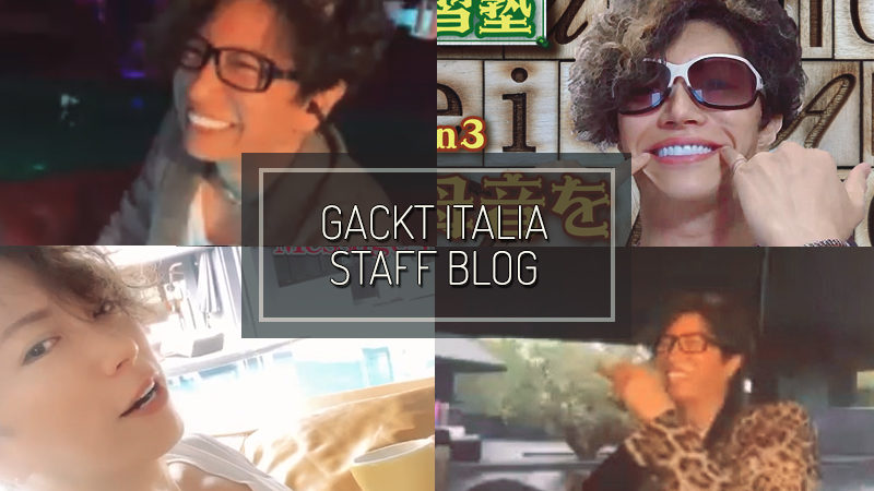GACKT ITALIA STAFF BLOG – MAY 10 2020