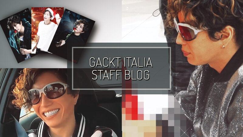 GACKT ITALIA STAFF BLOG – DEC 06 2020